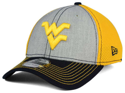 West Virginia Mountaineers NCAA Heathered Neo 39THIRTY Cap Hats