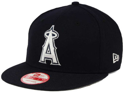 Los Angeles Angels MLB C-Dub 9FIFTY Snapback Cap Hats