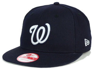 Washington Nationals MLB C-Dub 9FIFTY Snapback Cap Hats