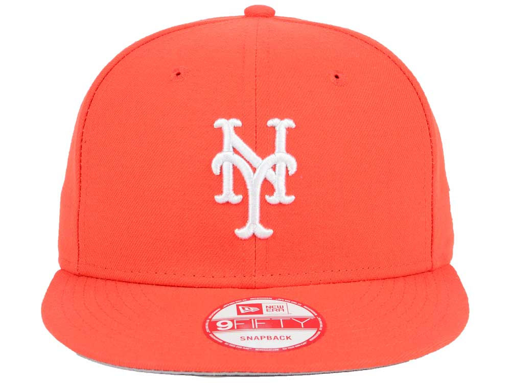 new style 2fb22 d5d1f New York Mets New Era MLB C-Dub 9FIFTY Snapback Cap outlet