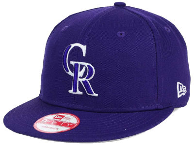 Colorado Rockies MLB C-Dub 9FIFTY Snapback Cap Hats