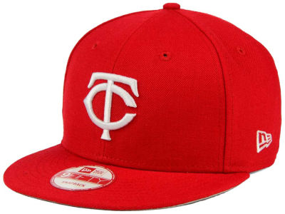 Minnesota Twins MLB C-Dub 9FIFTY Snapback Cap Hats