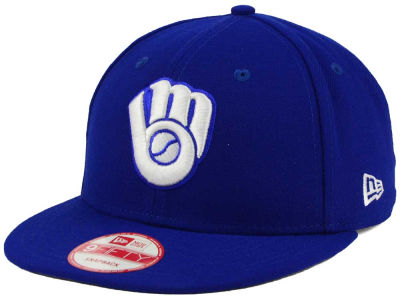 Milwaukee Brewers MLB C-Dub 9FIFTY Snapback Cap Hats