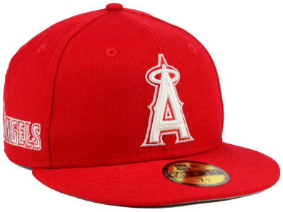 Los Angeles Angels MLB C-Dub Patch 59FIFTY Cap Hats