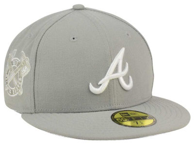 Atlanta Braves MLB C-Dub Patch 59FIFTY Cap Hats