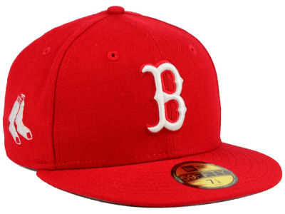 Boston Red Sox MLB C-Dub Patch 59FIFTY Cap Hats