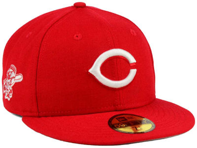 Cincinnati Reds MLB C-Dub Patch 59FIFTY Cap Hats