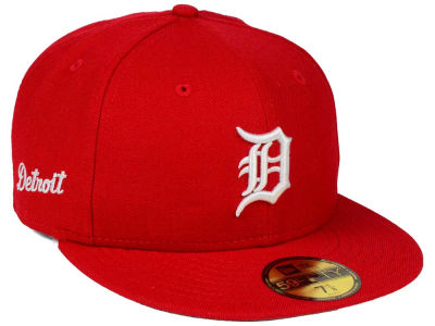 Detroit Tigers MLB C-Dub Patch 59FIFTY Cap Hats