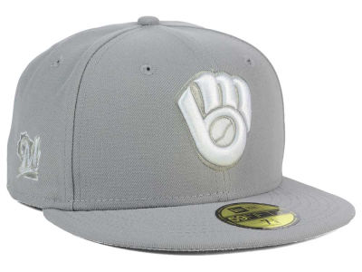 Milwaukee Brewers MLB C-Dub Patch 59FIFTY Cap Hats