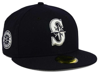 Seattle Mariners MLB C-Dub Patch 59FIFTY Cap Hats