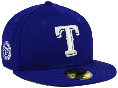 Texas Rangers MLB C-Dub Patch 59FIFTY Cap Hats