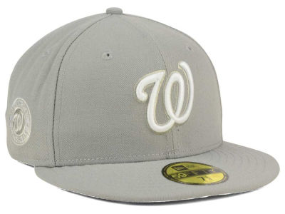 Washington Nationals MLB C-Dub Patch 59FIFTY Cap Hats