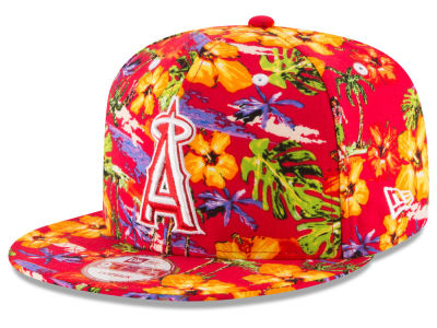 Los Angeles Angels MLB Spring Time 9FIFTY Snapback Cap Hats