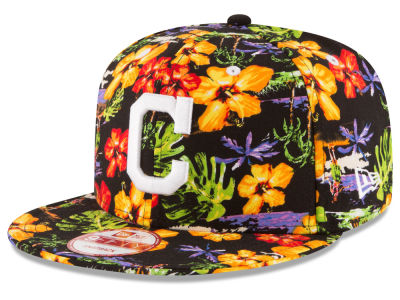 Cleveland Indians MLB Spring Time 9FIFTY Snapback Cap Hats
