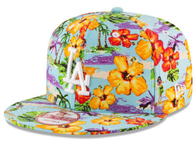 Los Angeles Dodgers MLB Spring Time 9FIFTY Snapback Cap Hats