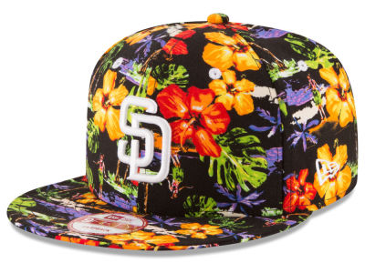 San Diego Padres MLB Spring Time 9FIFTY Snapback Cap Hats