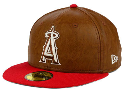 Los Angeles Angels MLB So Leather 2-Tone 59FIFTY Cap Hats