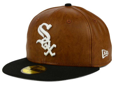 Chicago White Sox MLB So Leather 2-Tone 59FIFTY Cap Hats