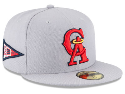 Los Angeles Angels MLB Banner Patch 59FIFTY Cap Hats