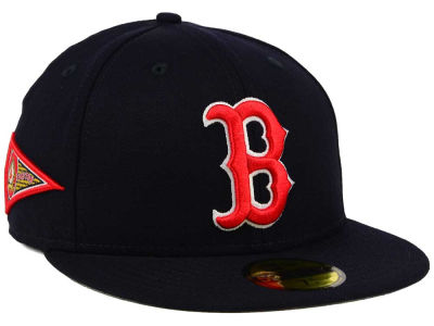 Boston Red Sox MLB Banner Patch 59FIFTY Cap Hats