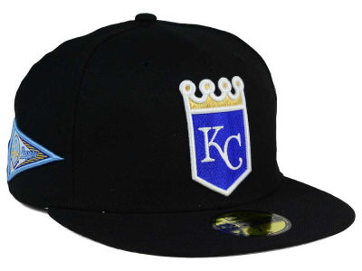 Kansas City Royals MLB Banner Patch 59FIFTY Cap Hats