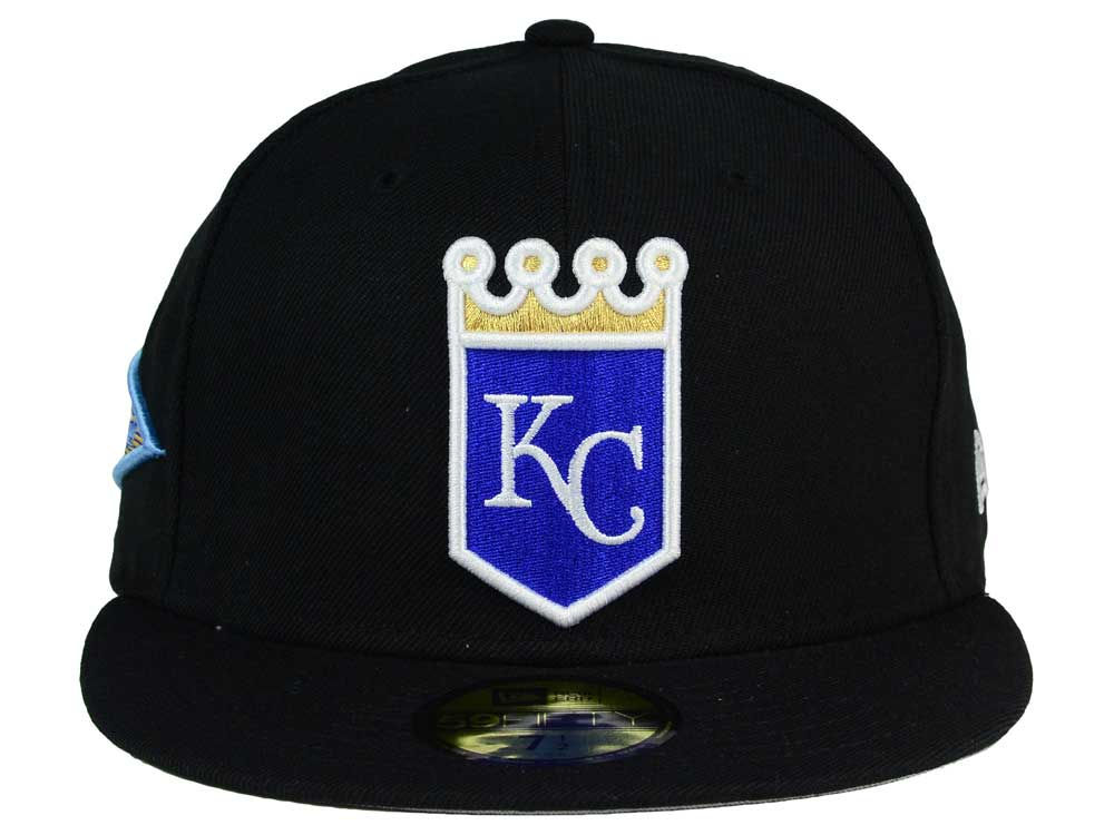 brand new 1be49 c20d7 30%OFF Kansas City Royals New Era MLB Banner Patch 59FIFTY Cap