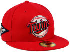 Minnesota Twins New Era MLB Banner Patch 59FIFTY Cap Fitted Hats