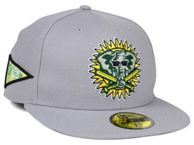 Oakland Athletics MLB Banner Patch 59FIFTY Cap Hats