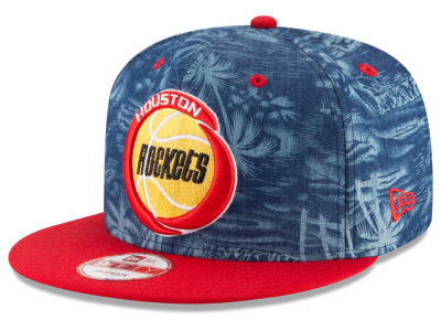 Houston Rockets NBA HWC D-TROP 9FIFTY Snapback Cap Hats