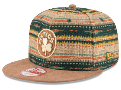 Boston Celtics NBA HWC The Natural Print 9FIFTY Snapback Cap Hats