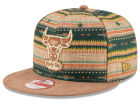 Chicago Bulls New Era NBA HWC The Natural Print 9FIFTY Snapback Cap Adjustable Hats