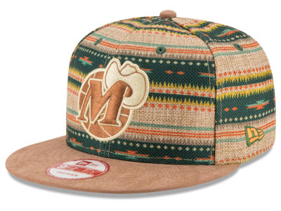 Dallas Mavericks NBA HWC The Natural Print 9FIFTY Snapback Cap Hats