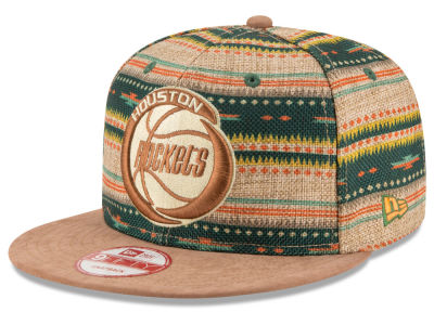 Houston Rockets NBA HWC The Natural Print 9FIFTY Snapback Cap Hats