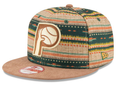 Indiana Pacers NBA HWC The Natural Print 9FIFTY Snapback Cap Hats