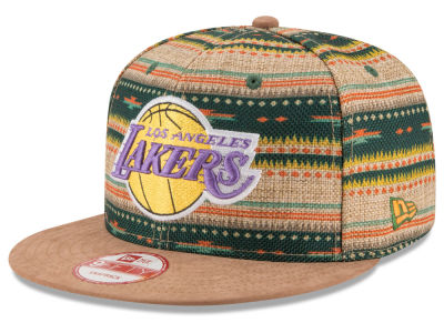 Los Angeles Lakers NBA HWC The Natural Print 9FIFTY Snapback Cap Hats