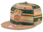 New York Knicks New Era NBA HWC The Natural Print 9FIFTY Snapback Cap Adjustable Hats