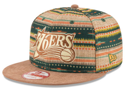 Philadelphia 76ers NBA HWC The Natural Print 9FIFTY Snapback Cap Hats