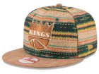 Sacramento Kings New Era NBA HWC The Natural Print 9FIFTY Snapback Cap Adjustable Hats