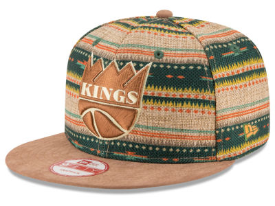 Sacramento Kings NBA HWC The Natural Print 9FIFTY Snapback Cap Hats