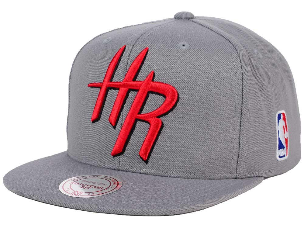 6fdbccafe ... reduced outlet houston rockets mitchell and ness nba xl logo snapback  cap 78373 6fb85