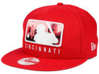 Cincinnati Reds New Era MLB Batterman 9FIFTY Snapback Cap Adjustable Hats