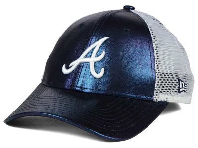 Atlanta Braves MLB Women's Team Glimmer 9FORTY Cap Hats