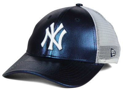 New York Yankees MLB Women's Team Glimmer 9FORTY Cap Hats