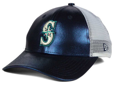 Seattle Mariners MLB Women's Team Glimmer 9FORTY Cap Hats