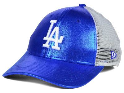 Los Angeles Dodgers MLB Women's Team Glimmer 9FORTY Cap Hats