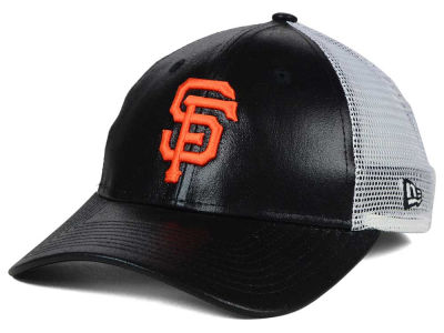 San Francisco Giants MLB Women's Team Glimmer 9FORTY Cap Hats