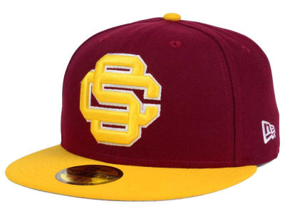 USC Trojans NCAA Logo Grand 59FIFTY Cap Hats