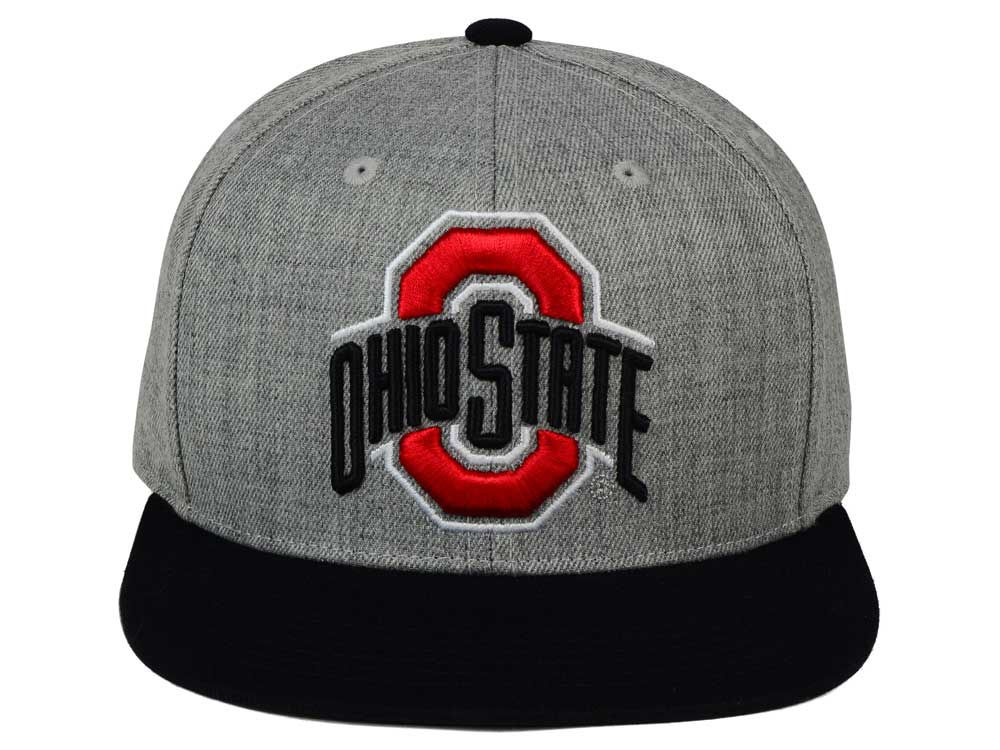 reputable site 872e4 96b4e ... new arrivals 85off ohio state buckeyes j america ncaa power heather  snapback hat 25a0d 72af5