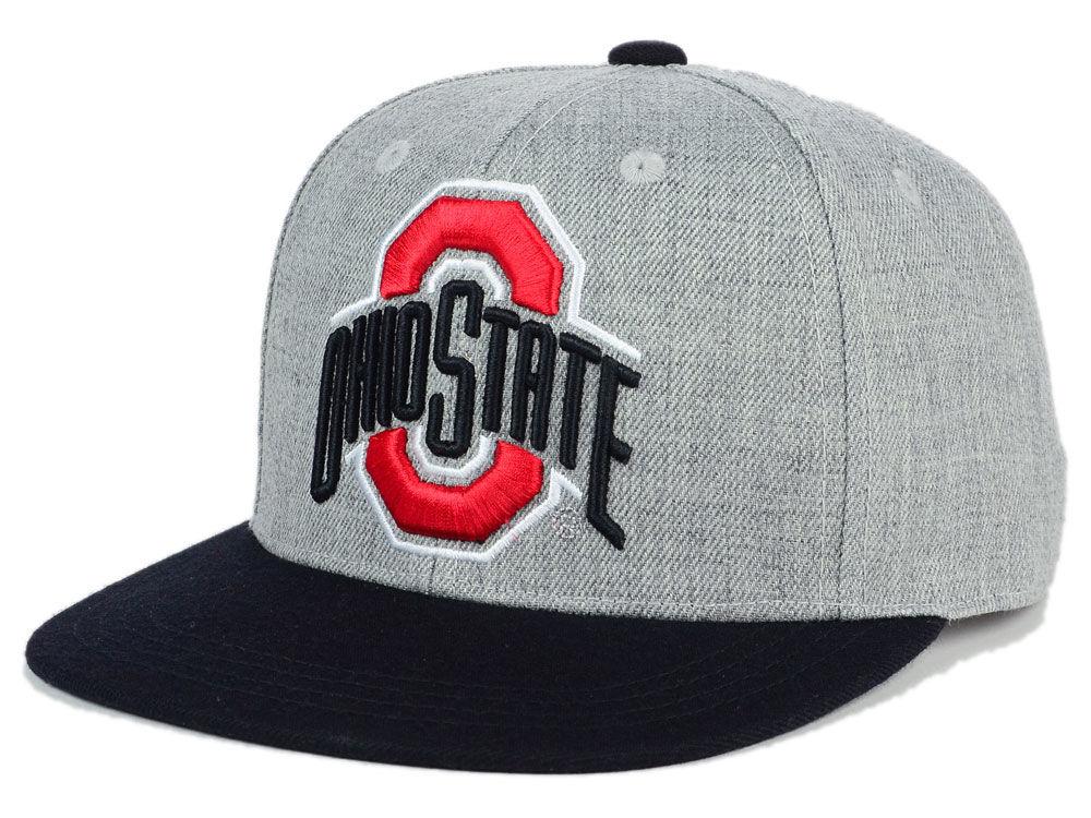 timeless design 31f69 dfd8e Ohio State Buckeyes J America NCAA Youth Power Heather Snapback Hat hot  sale 2017