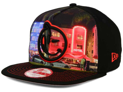YUMS South Beach Night 2.0 9FIFTY Snapback Cap Hats
